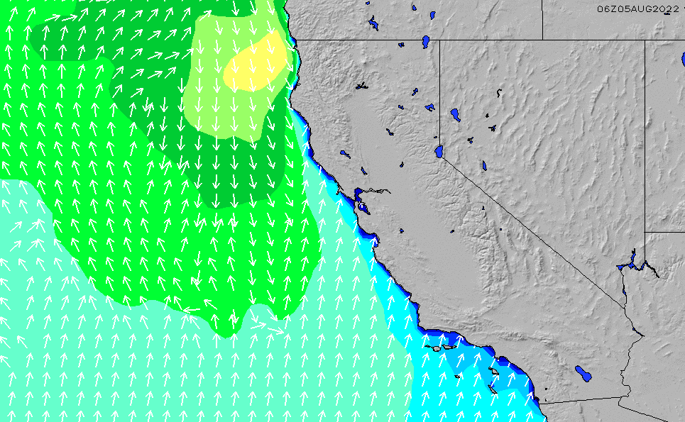 SFSan Mateo County Regional Wave Height Chart SURFLINECOM