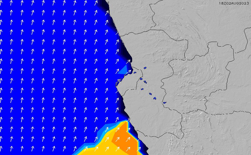 2021/5/9(日)7:00ポイントの波周期