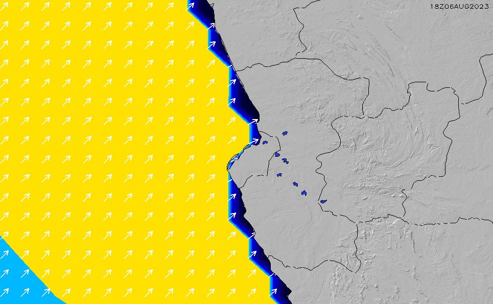 2021/3/8(月)7:00ポイントの波周期