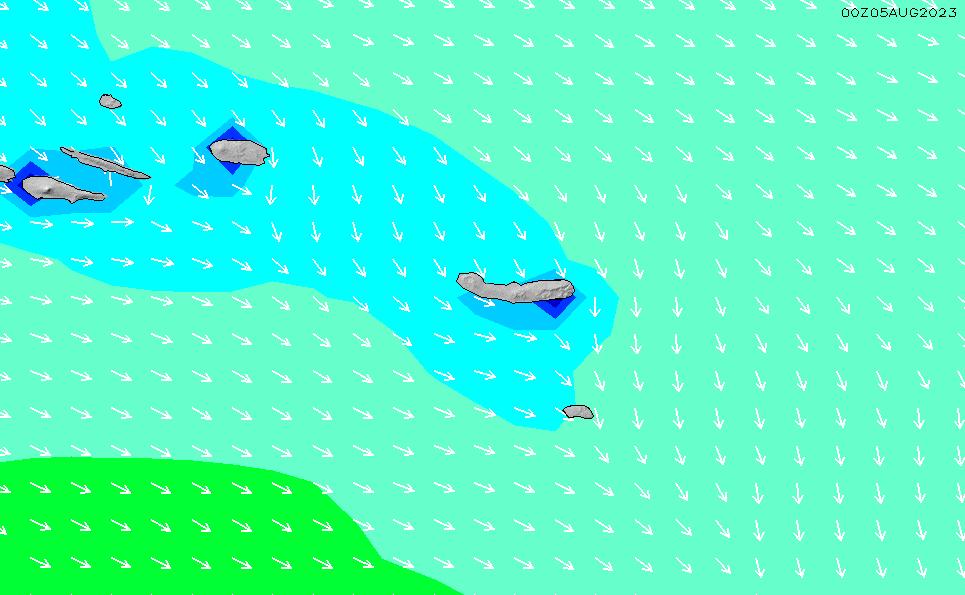 2020/9/26(土)6:00波高チャート