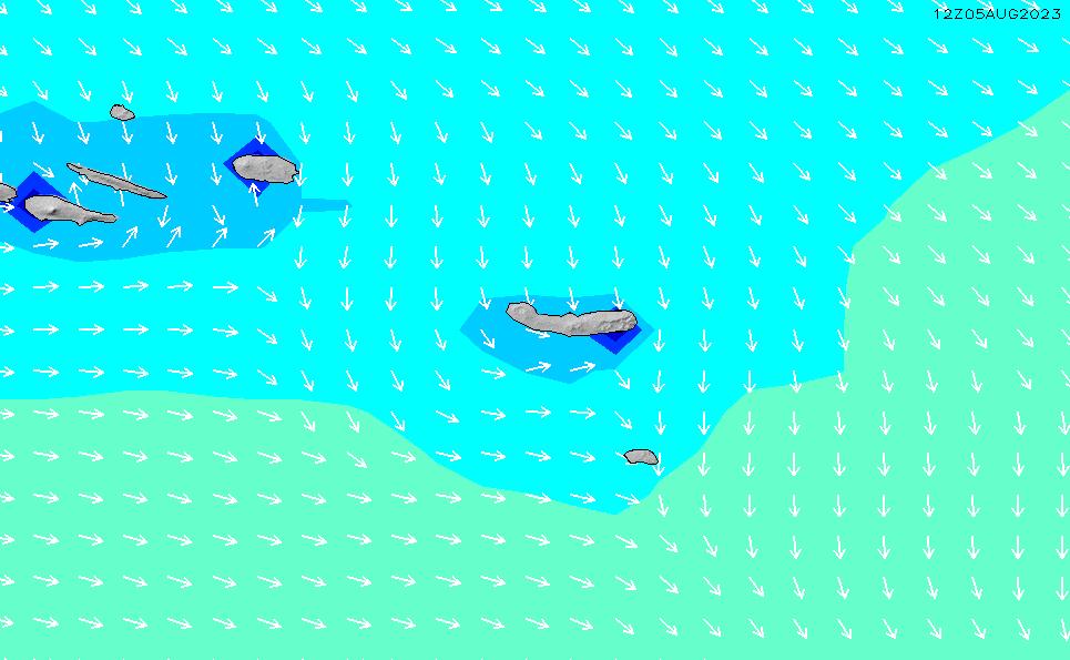 2021/2/28(日)1:00波高チャート