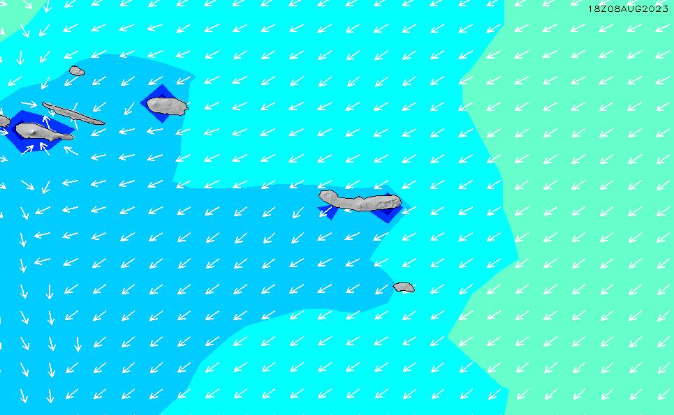 2020/9/25(金)12:00波高チャート
