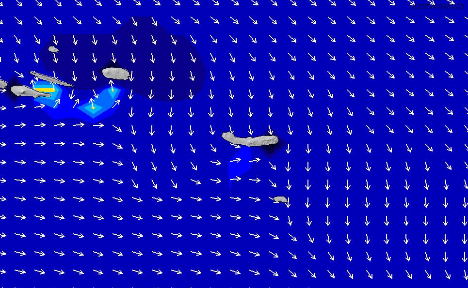2020/9/25(金)12:00ポイントの波周期