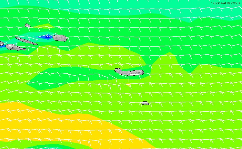 2020/9/26(土)6:00風速・風向