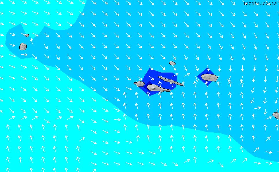 2021/3/3(水)13:00波高チャート