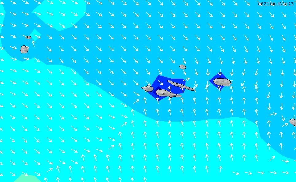 2021/3/2(火)1:00波高チャート