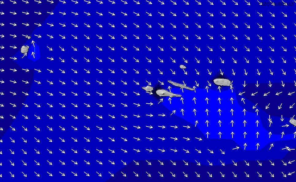 2021/3/3(水)13:00ポイントの波周期