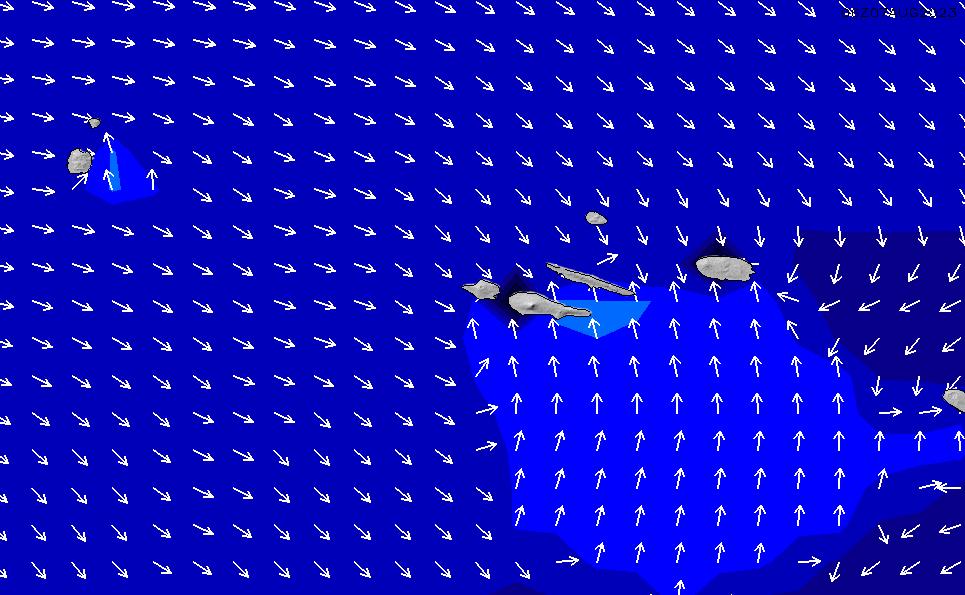 2021/3/6(土)1:00ポイントの波周期