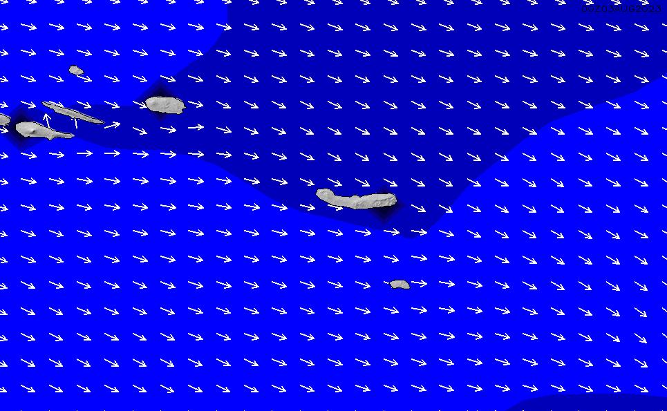 2021/1/17(日)19:00ポイントの波周期