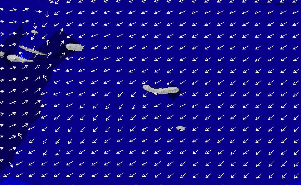 2020/8/5(水)0:00ポイントの波周期