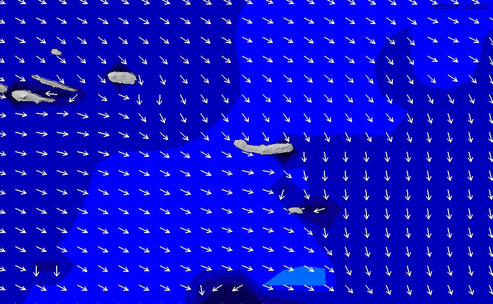 2020/7/8(水)12:00ポイントの波周期