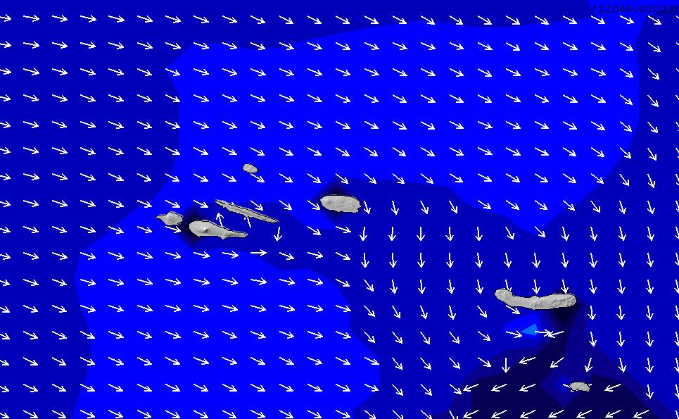 2020/8/14(金)18:00ポイントの波周期
