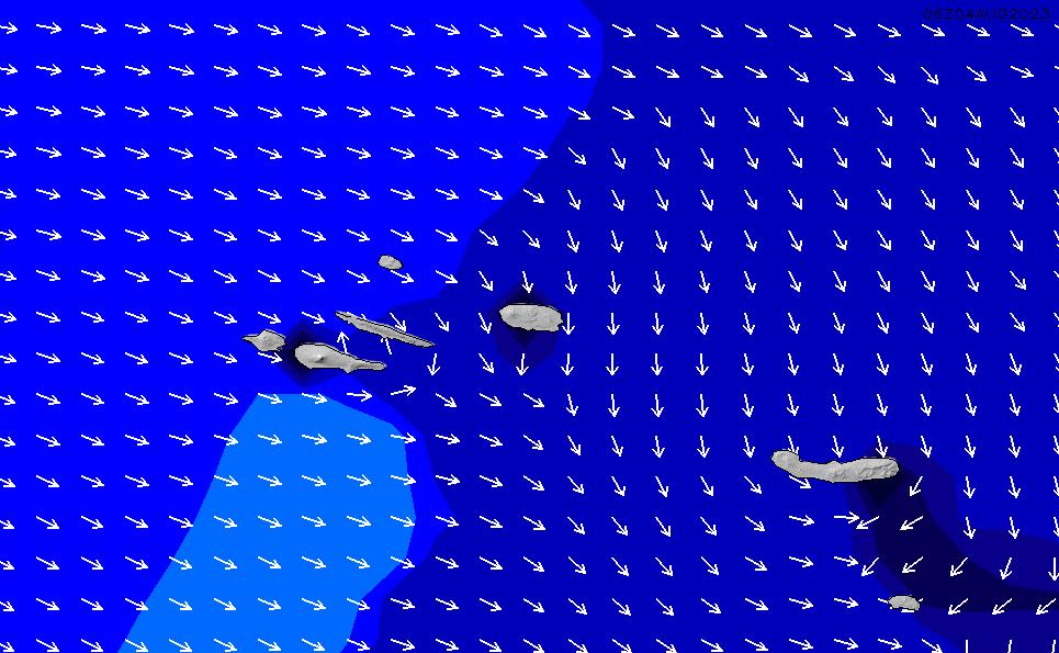2020/3/31(火)0:00ポイントの波周期
