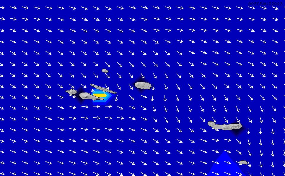 2021/4/17(土)18:00ポイントの波周期