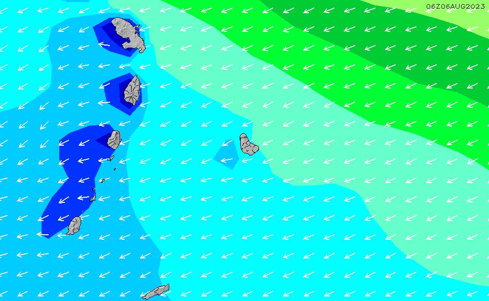 2021/5/9(日)4:00波高チャート