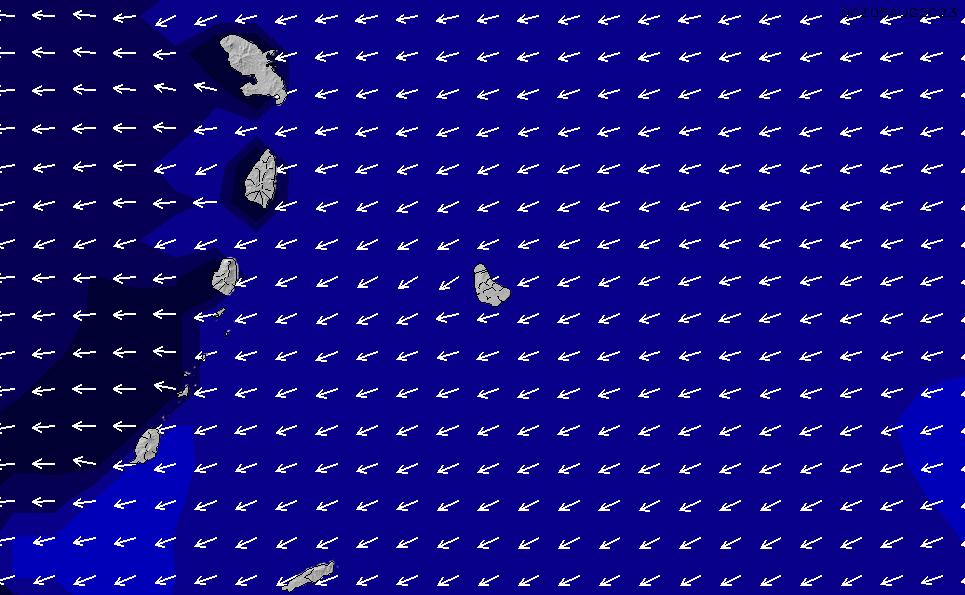 2020/9/21(月)22:00ポイントの波周期