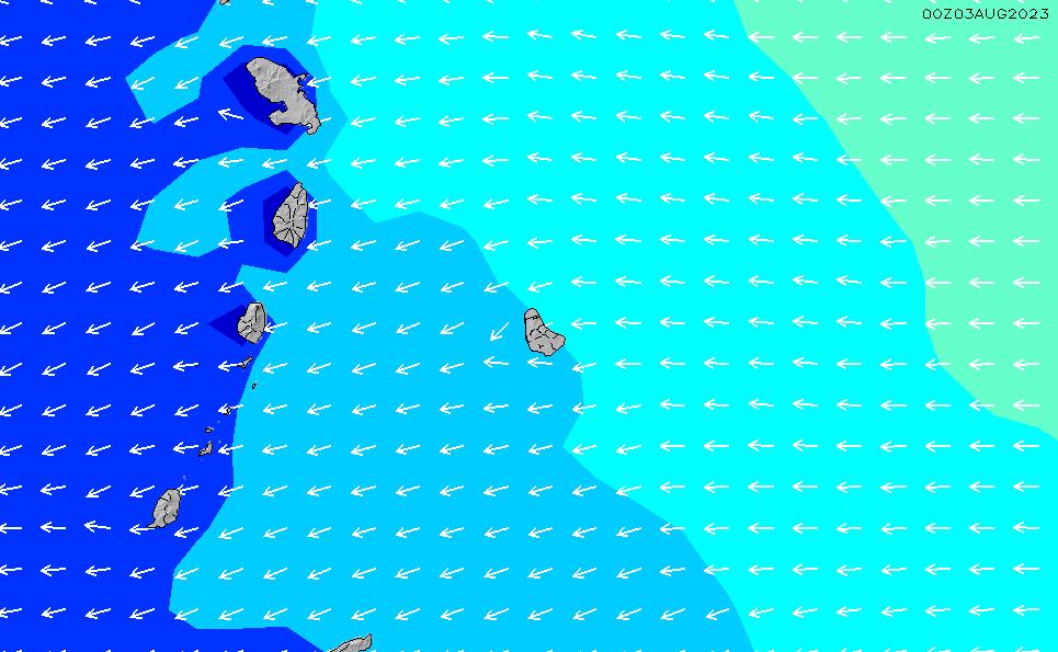 2020/9/28(月)10:00波高チャート