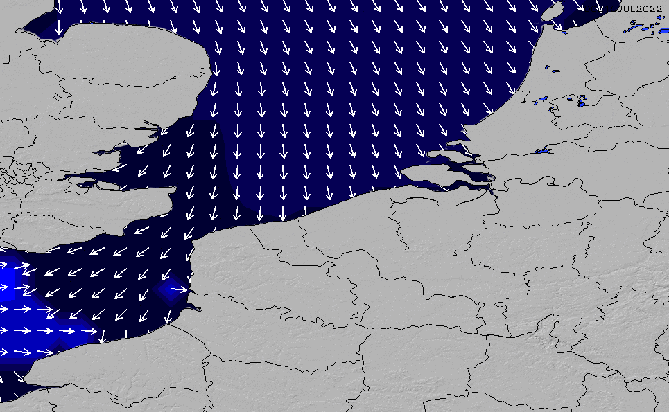 2020/11/28(土)13:00ポイントの波周期