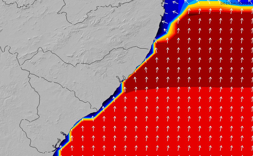 2021/5/19(水)15:00ポイントの波周期