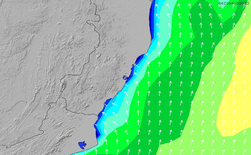 2021/1/26(火)20:00波高チャート