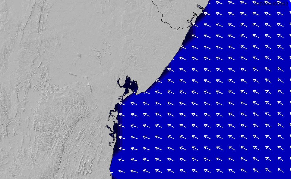 2020/9/30(水)21:00ポイントの波周期