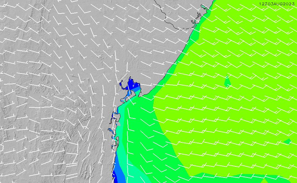 2021/2/26(金)15:00風速・風向