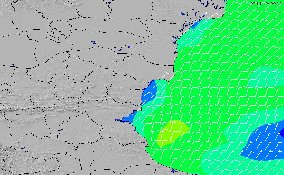 2021/5/10(月)15:00風速・風向