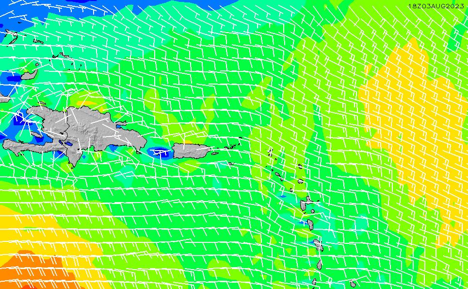 2020/10/2(金)16:00風速・風向
