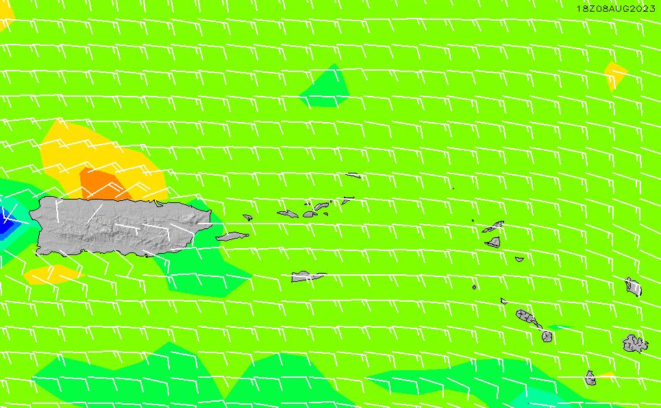 2020/6/5(金)4:00風速・風向