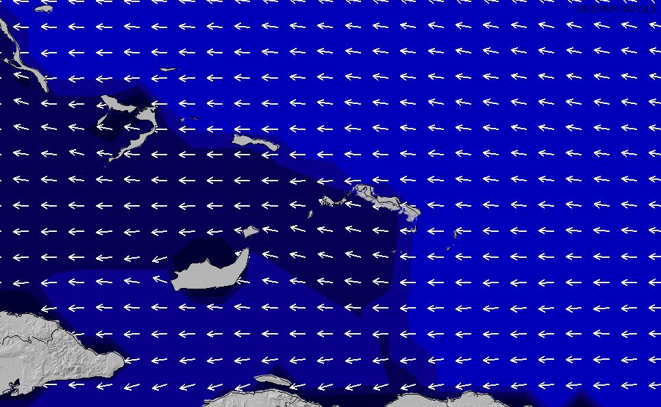 2021/9/18(土)4:00ポイントの波周期