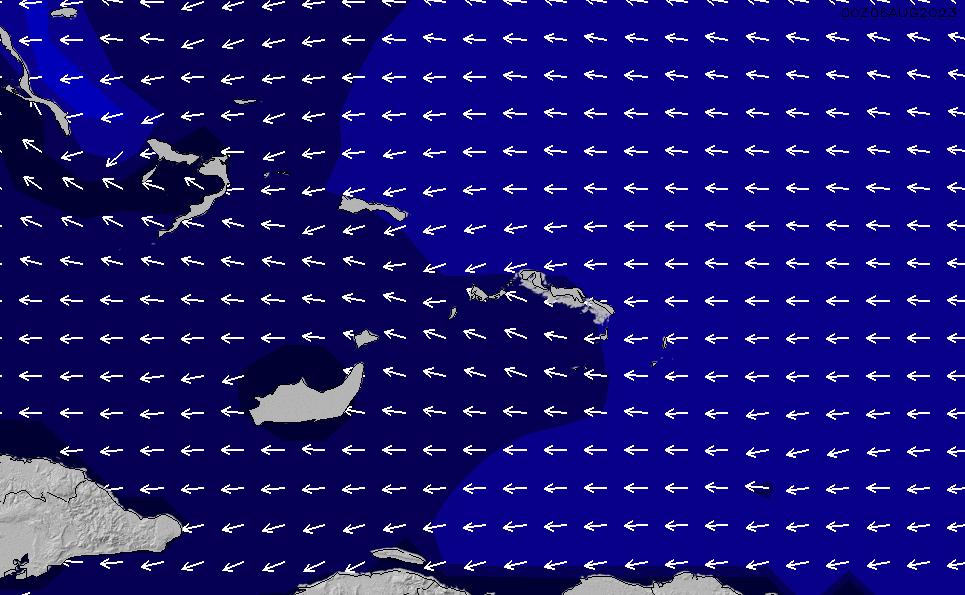 2021/3/2(火)5:00ポイントの波周期