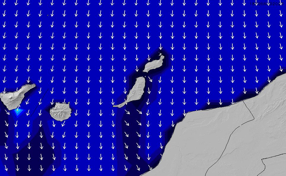 2020/9/21(月)7:00ポイントの波周期