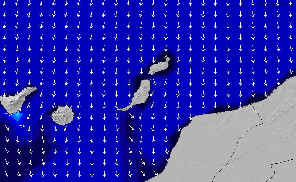 2021/3/6(土)18:00ポイントの波周期