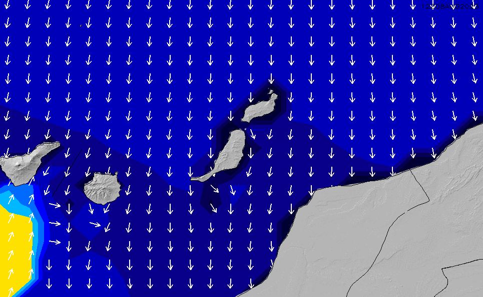2021/7/28(水)13:00ポイントの波周期
