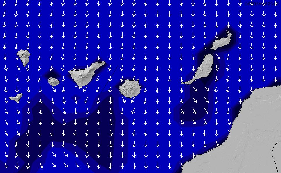 2020/9/26(土)1:00ポイントの波周期