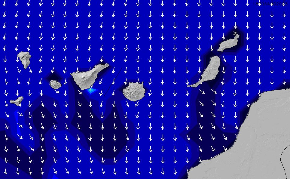2021/3/10(水)6:00ポイントの波周期