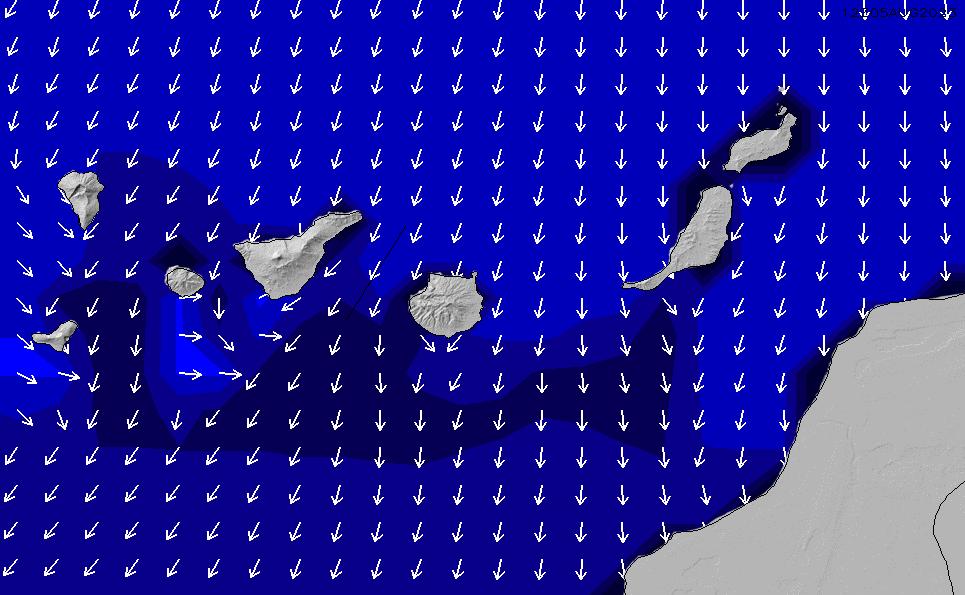 2020/9/28(月)13:00ポイントの波周期