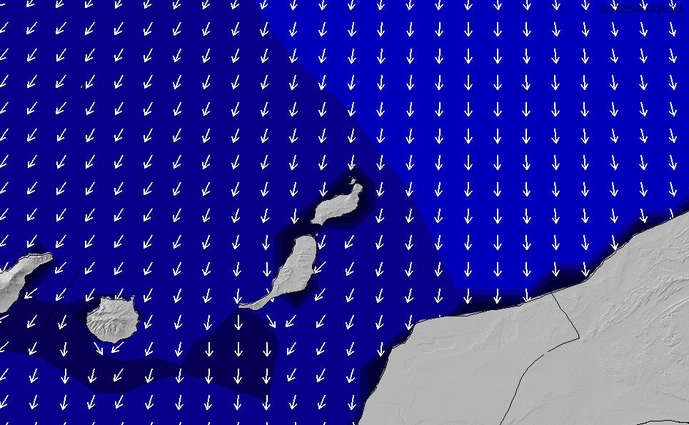 2021/3/9(火)6:00ポイントの波周期
