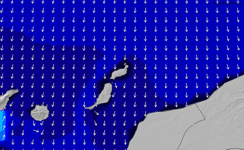 2020/9/21(月)1:00ポイントの波周期