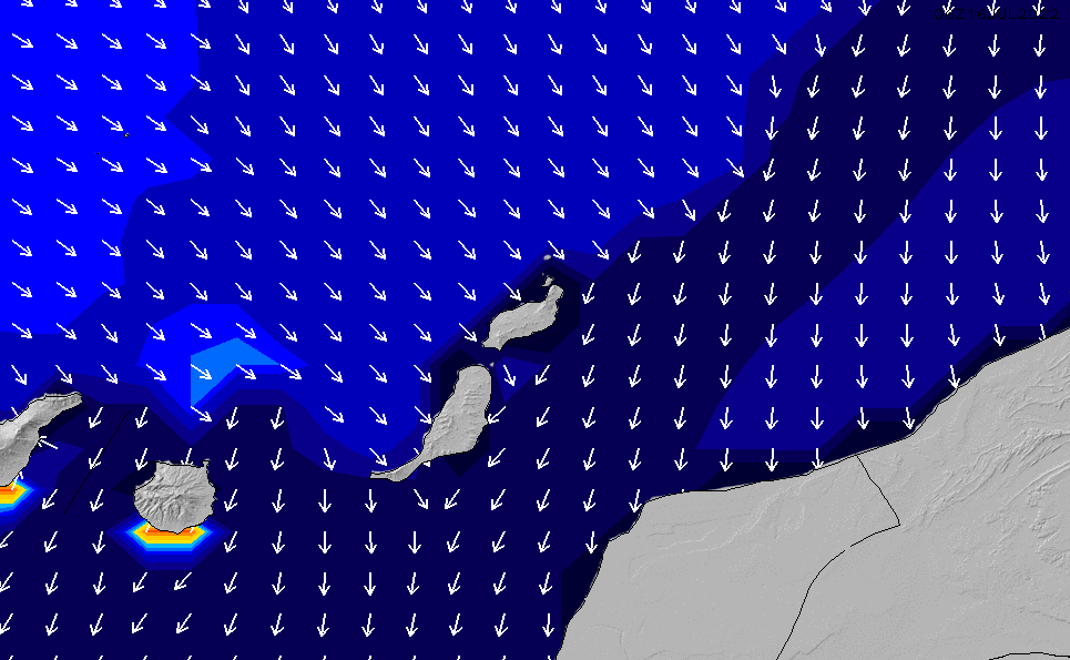 2021/2/28(日)6:00ポイントの波周期