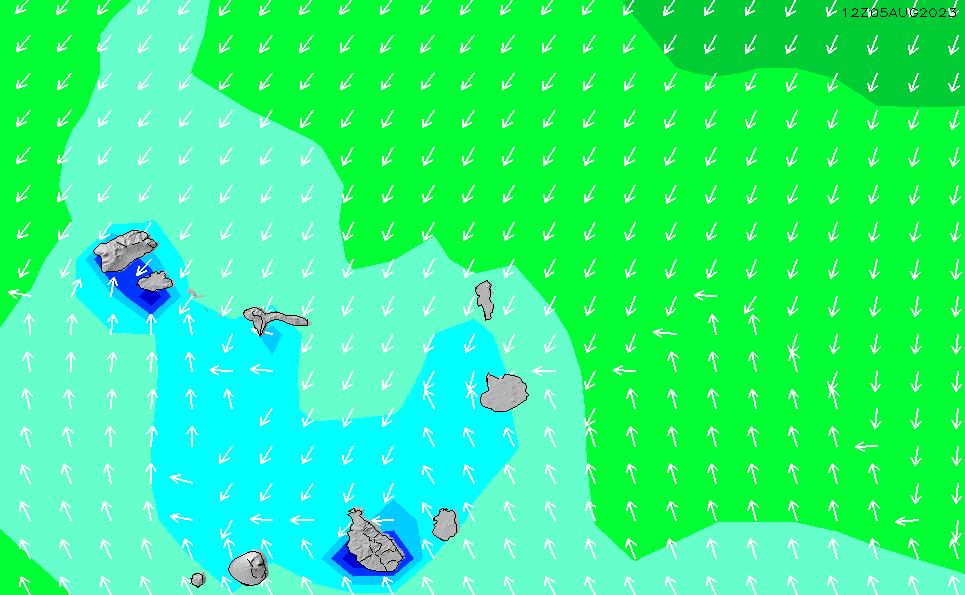 2021/5/11(火)19:00波高チャート