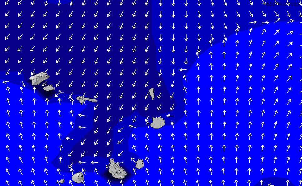 2021/3/2(火)19:00ポイントの波周期