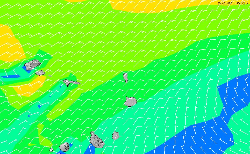 2021/3/2(火)19:00風速・風向