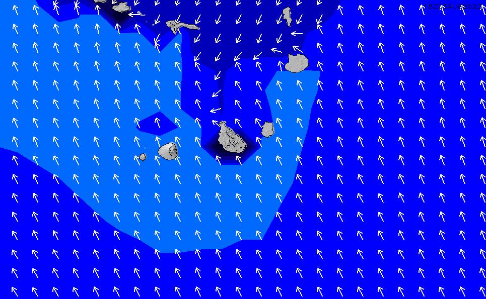 2021/10/22(金)7:00ポイントの波周期