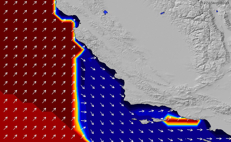 2021/2/28(日)14:00ポイントの波周期