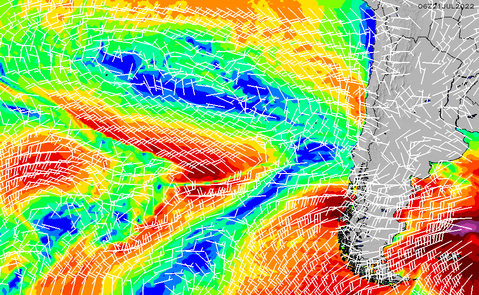 2021/5/13(木)4:00風速・風向