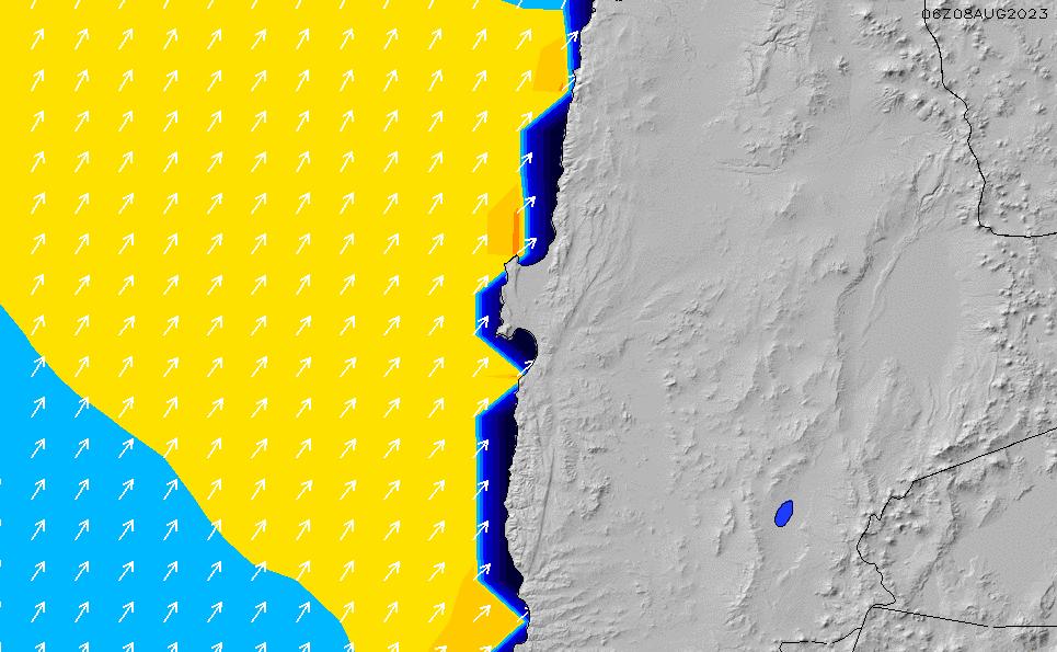 2021/3/3(水)15:00ポイントの波周期