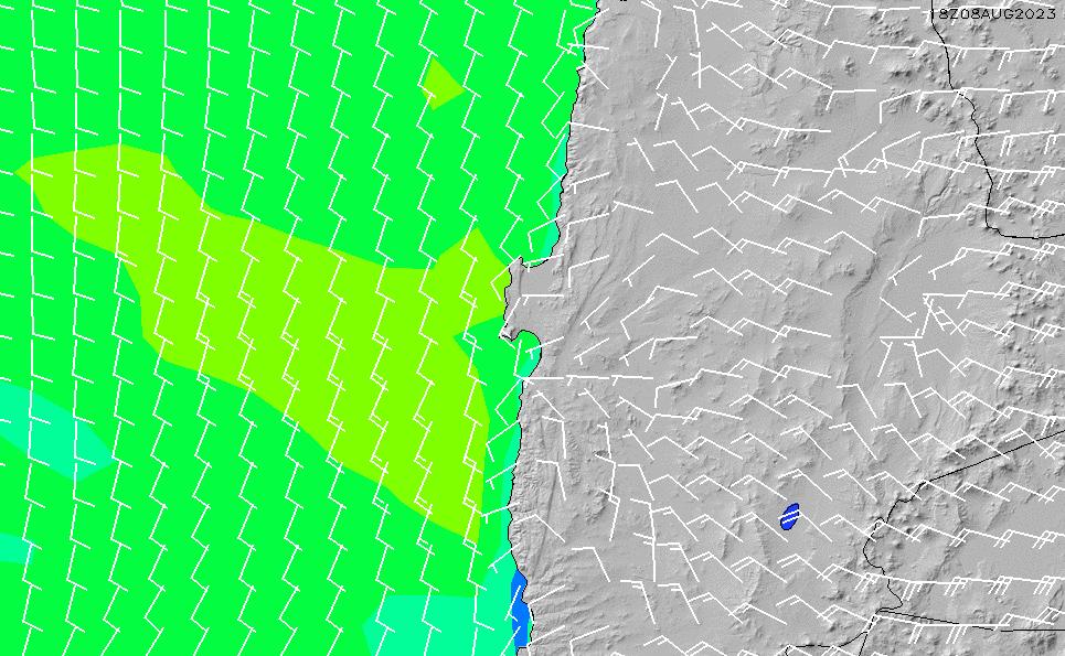 2021/3/3(水)15:00風速・風向