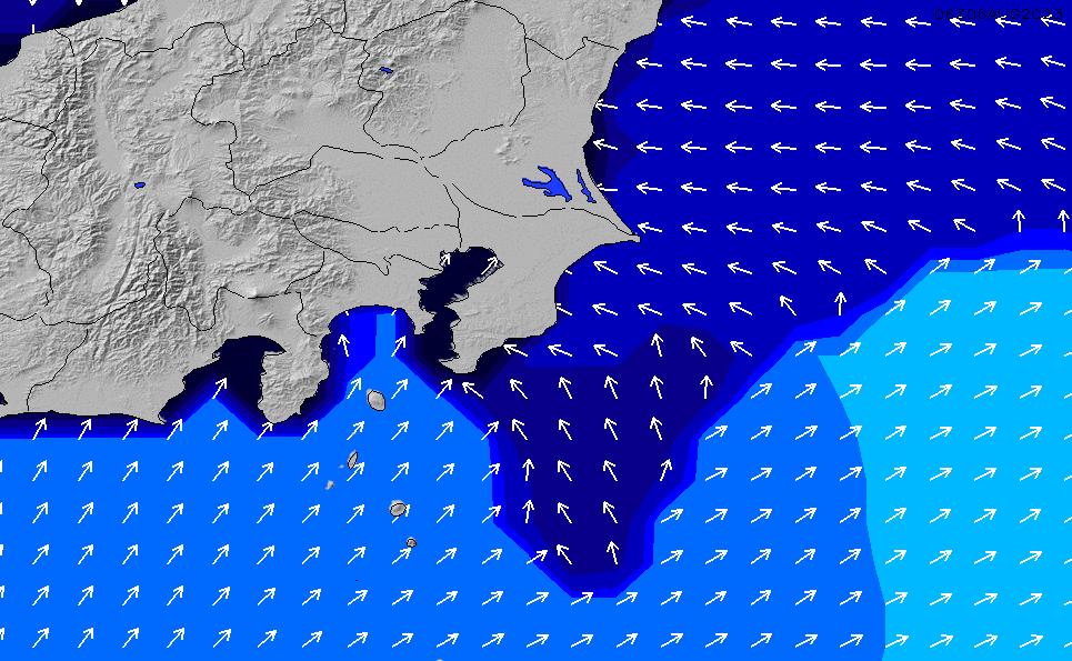 2021/3/9(火)15:00ポイントの波周期