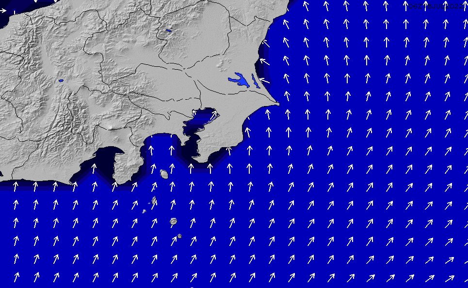 2020/6/7(日)3:00ポイントの波周期